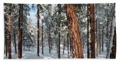 Ponderosa Winter Hand Towel