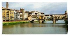 Ponte Vecchio 1 Bath Towel