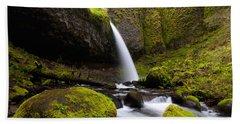 Ponytail Falls Bath Towel
