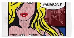Pop Art Porn Stars - Lindsay Marie Hand Towel