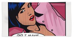 Pop Art Porn Stars - Sunny Leone Hand Towel