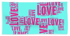 Pop Love 1 Hand Towel