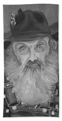 Popcorn Sutton - Jam - Moonshine Bath Towel