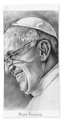 Pope Francis Bath Towel