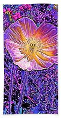 Poppy 3 Bath Towel by Pamela Cooper