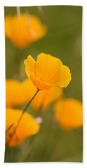 Hand Towel featuring the photograph Poppy I by Ronda Kimbrow