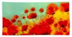 Poppy Time Hand Towel