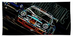 Porsche 911 Racing Hand Towel