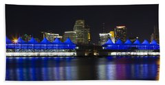 Port Of Miami Bath Towel