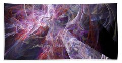 Hand Towel featuring the digital art Portal by Margie Chapman