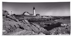 Portland Head Light Bath Towel