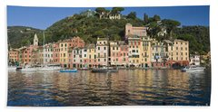 Hand Towel featuring the photograph Portofino by Antonio Scarpi