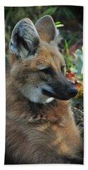 Portrait Of A Wolf Bath Towel