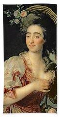 Portrait Of Anna Davia Bernucci Hand Towel
