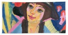 Portrait Of Gerda Hand Towel