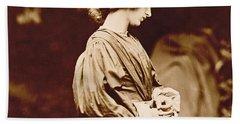 Portrait Of Jane Morris Hand Towel