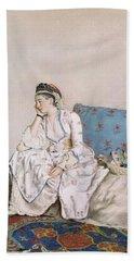 Portrait Of Mary Gunning Hand Towel
