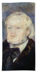 Portrait Of Richard Wagner Hand Towel
