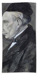 Portrait Of The Artists Grandfather Bath Towel