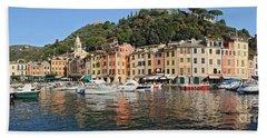 Hand Towel featuring the photograph Porttofino - Italy by Antonio Scarpi