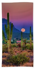 Postcard Perfect Arizona Hand Towel