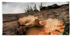 Pot Of Gold - Glowing Fungi Hand Towel