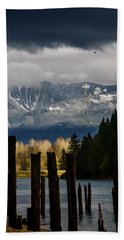Potential - Landscape Photography Bath Towel by Jordan Blackstone