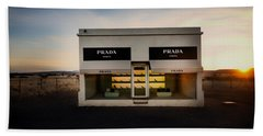 Prada Marfa Hand Towel by Mountain Dreams