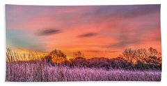 Moraine Hills State Park Moments Before Sunrise Hand Towel