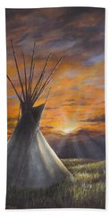Prairie Sunset Hand Towel