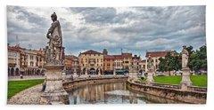 Prato Della Valle Bath Towel by Hanny Heim