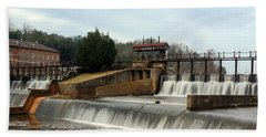 Prattville Dam Prattville Alabama Hand Towel