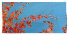 Bath Towel featuring the painting Precious Moments by Teresa Wegrzyn