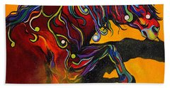 Prelude To A Dance Hand Towel by Alison Caltrider