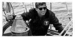 President John Kennedy Sailing Hand Towel