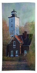 Presque Isle Lighthouse Hand Towel