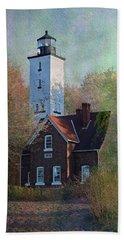 Presque Isle Lighthouse Bath Towel