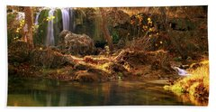 Price Falls 1 Of 5 Bath Towel by Jason Politte