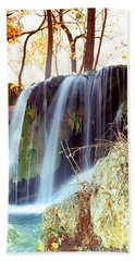 Price Falls 5 Of 5 Hand Towel by Jason Politte