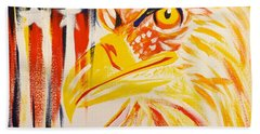 Primary Eagle Bath Towel