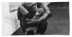 Primate Discipline Bath Towel