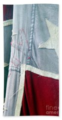 Primitive Flag Hand Towel by Valerie Reeves