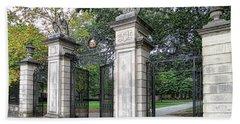 Princeton University Main Gate Bath Towel