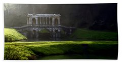 Bath Towel featuring the digital art Prior Park Bath by Ron Harpham