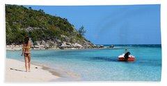 Private Beach Bahamas Bath Towel