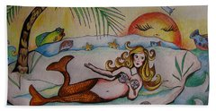 Private Paradise Hand Towel