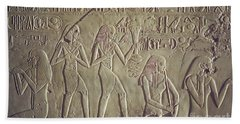 Private Tomb Of Kheruef Kheruf Cheriuf Tt 192 Asasif-stock Image-fine Art Print-valley Of The Kings Hand Towel