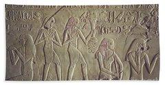 Private Tomb Of Kheruef Kheruf Cheriuf Tt 192 Asasif-stock Image-fine Art Print-valley Of The Kings Bath Towel