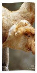 Proboscis Monkey Bath Towel