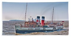 Ps Waverley Approaching Penarth Bath Towel by Steve Purnell